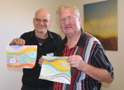 John Cartwright and Mark Anderson. Photo by Carensa Werder