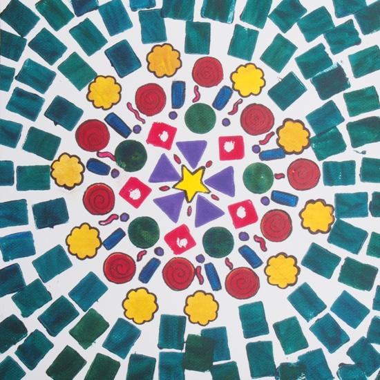 Mandala by Beryl Cuxson