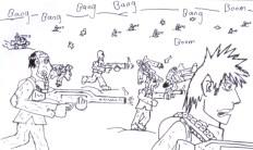Chemical World Manga Detail 1 by Daniel McLachlan
