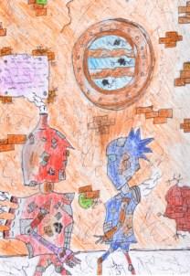 Ending of Cronos Detail 1 by Daniel McLachlan