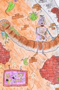 Ending of Cronos Detail 2 by Daniel McLachlan