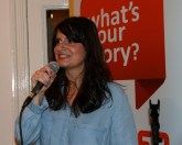 Meghan Woods, MC for Photo + Story opening