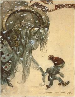 John Bauer, Yule Goat, 1917