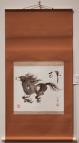 "Dee Teller 2010 Ink on rice paper Art: 12"" * 22"""
