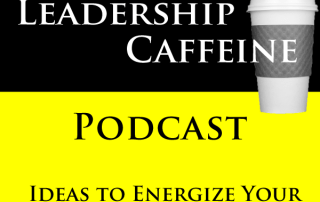 cover art for Leadership Caffeine Podcast