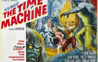 Public domain movie poster from Time Machine
