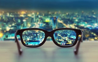 Clarifying the view with glasses