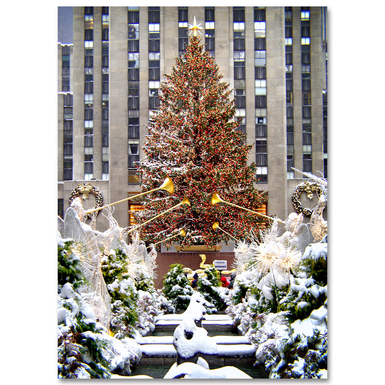 NYC Christmas Boxed Cards Art Photo Web Studio