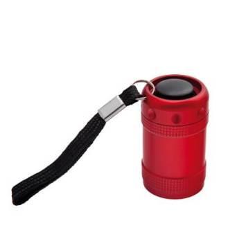 linterna metalica personalizada roja artplastic