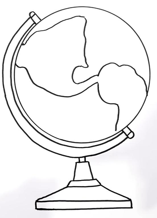 How To Draw A Globe 6 54 screenshot