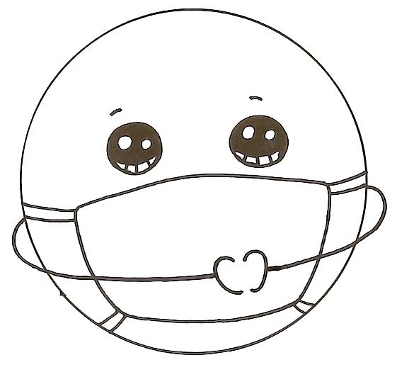 How to Draw the Earth wearing a Mask Coronavirus Awareness Art 4 43 screenshot