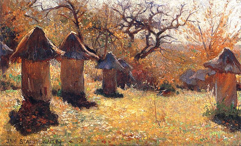 Jan Stanisławski: Ruches en Ukraine. Vers 1895