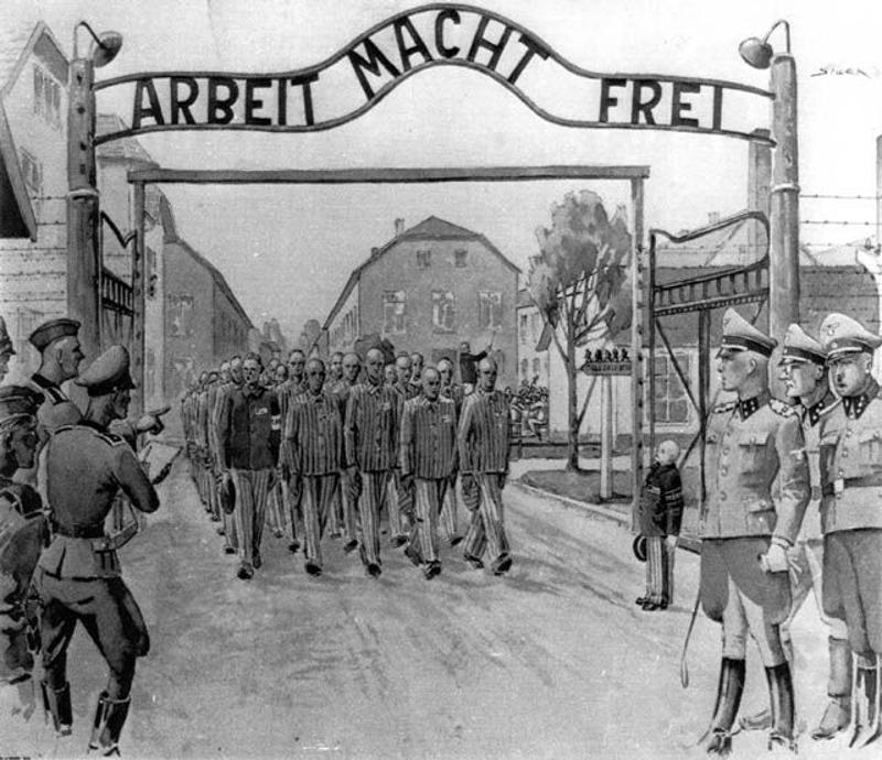 KL Auschwitz: Arbeit macht frei