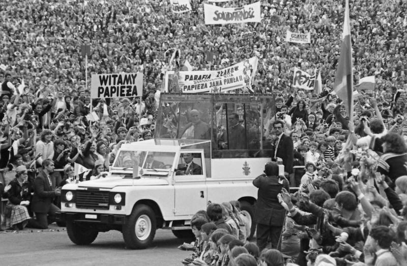 Pèlerinage papal, 17 juin 1983, Varsovie.