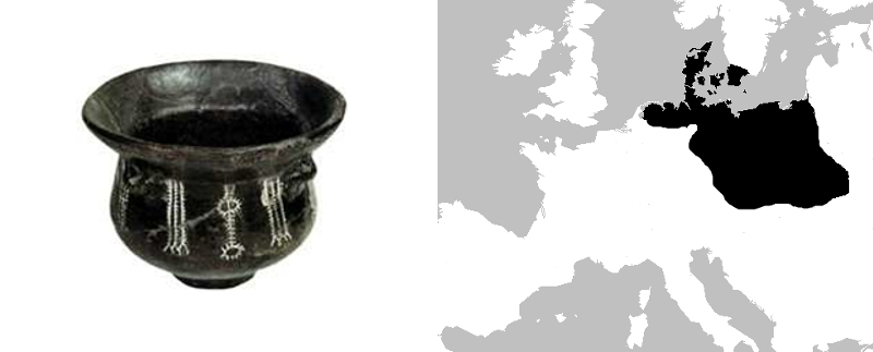 culture des vases à entonnoir