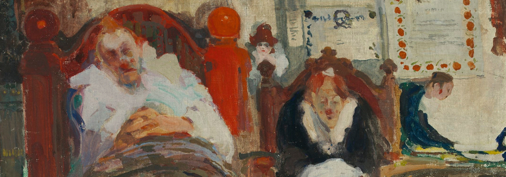 Witold Wojtkiewicz: Marionnettes. 1907. Détail.