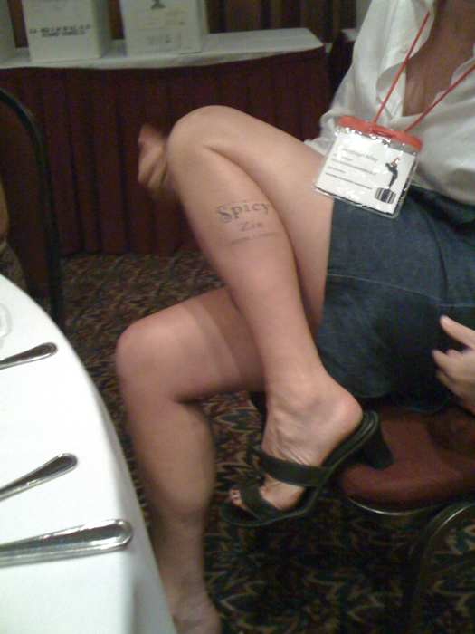 Sonoma County Temp Tattoos: Spicy Zin is me! thnx for photo to John Corcoran