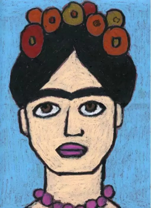 How To Draw Frida Kahlo Art Projects For Kids
