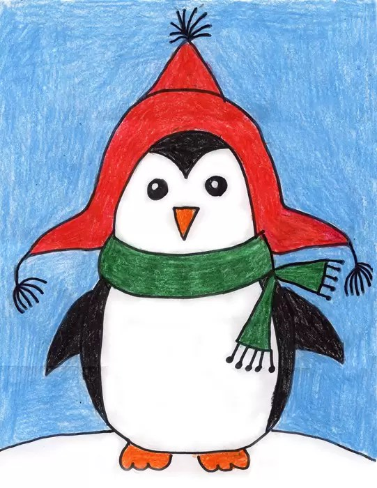 penguin art projects for kids