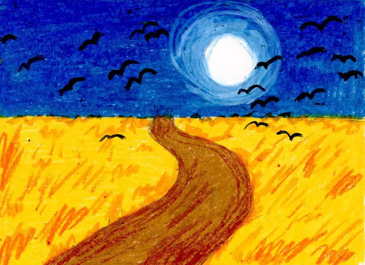 Van Gogh Wheat Field With Crows
