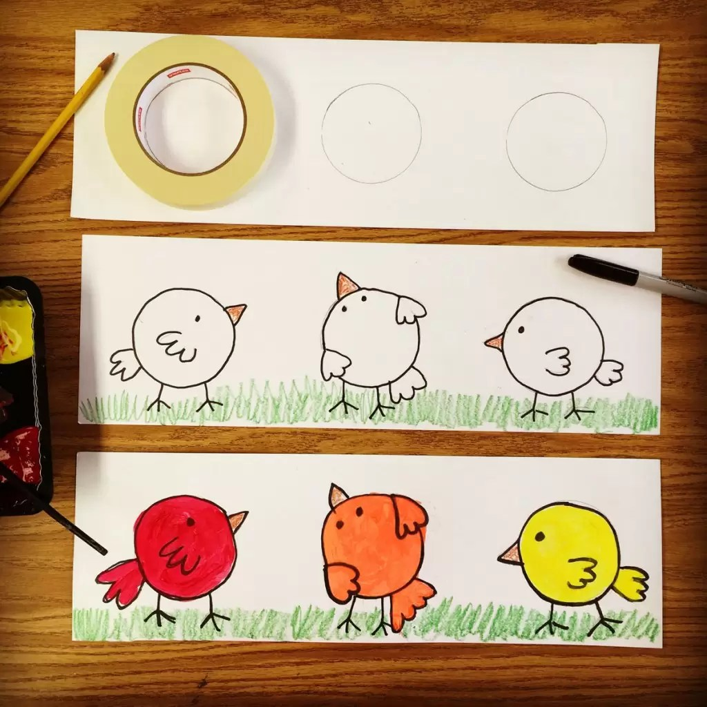 Color Lesson For Kindergarten Art Projects For Kids