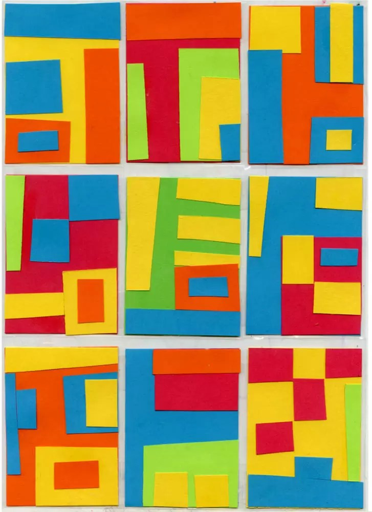 Gees Bend Quilt Collage Art Projects For Kids