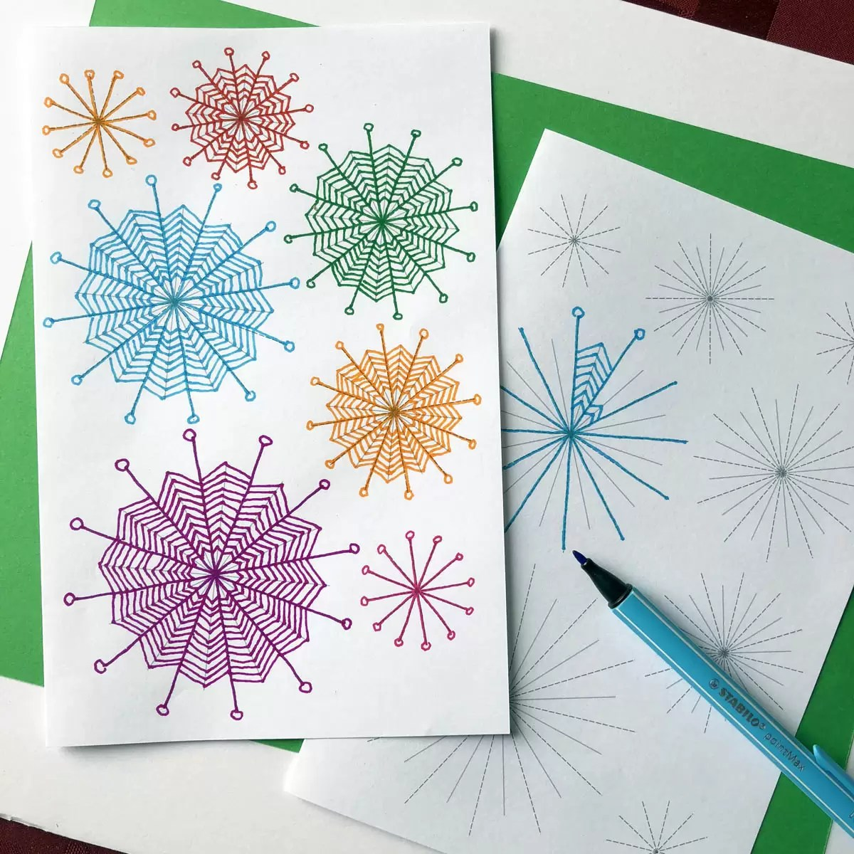 Best Zentangle Patterns Free Printable