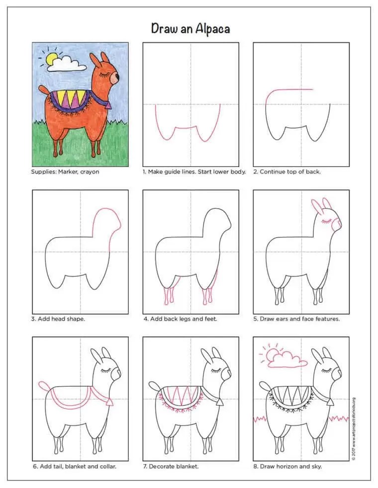 How To Draw Art Projects For Kids