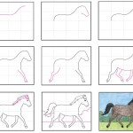 How To Draw A Horse Art Projects For Kids