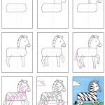 How To Draw A Zebra Art Projects For Kids