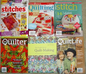 A Variety of Mags & Books