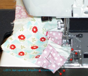 Sew 2 patches together