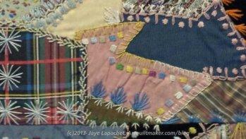 SJMQT Crazy Quilt Example (detail)image
