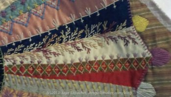 SJMQT Crazy Quilt Example (detail)