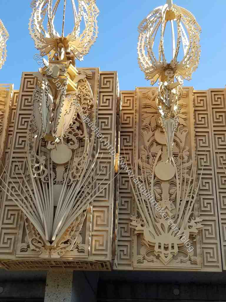 Burning Man temple: side