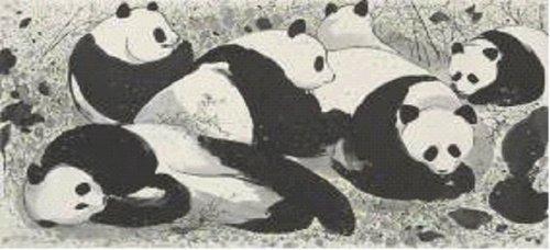 Wu Guanzhong, Pandas