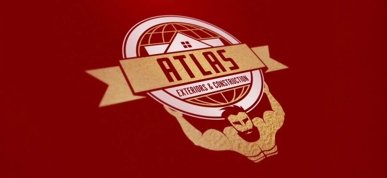 Atlas Exteriors - Logo Design - Lethbridge Alberta