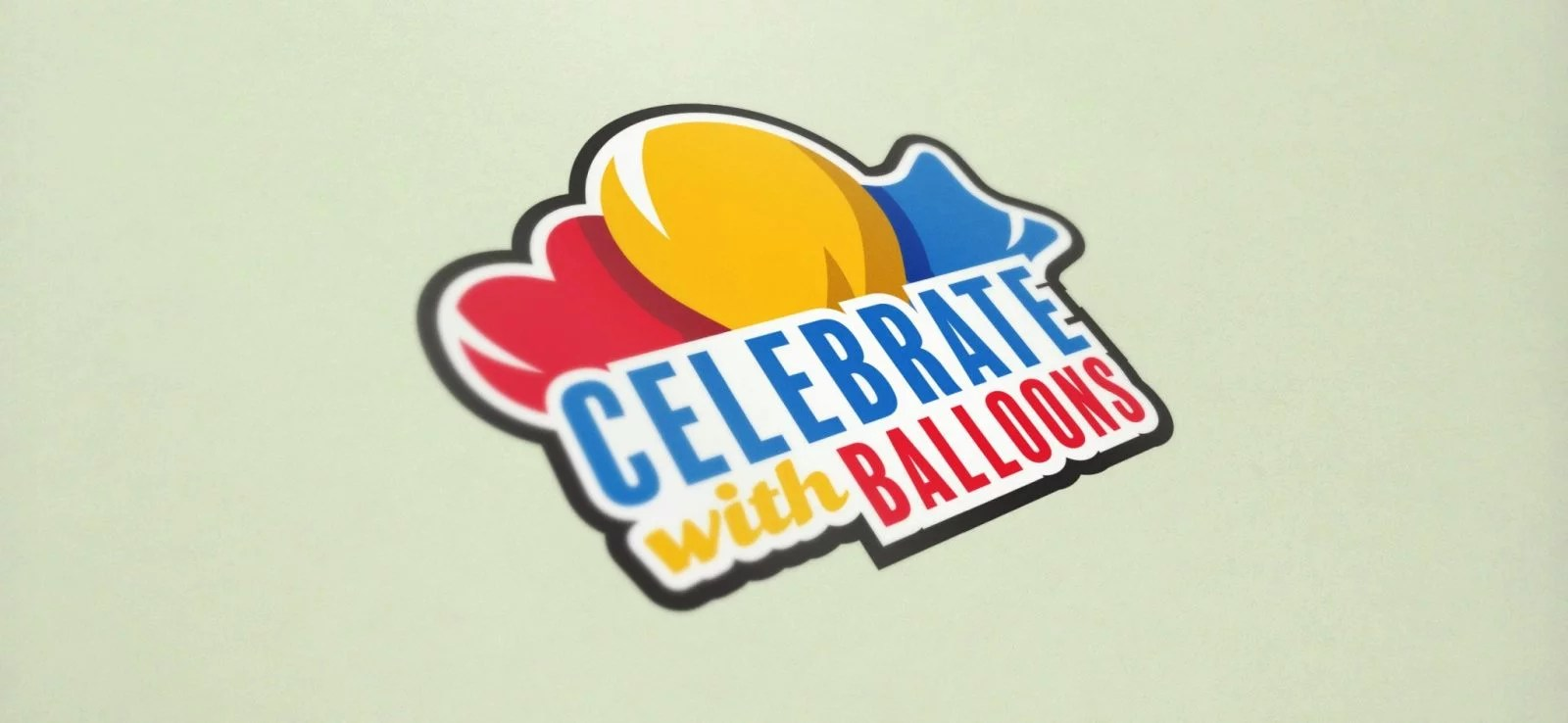 Celebrate With Balloons - Logo Design - Lethbridge Alberta