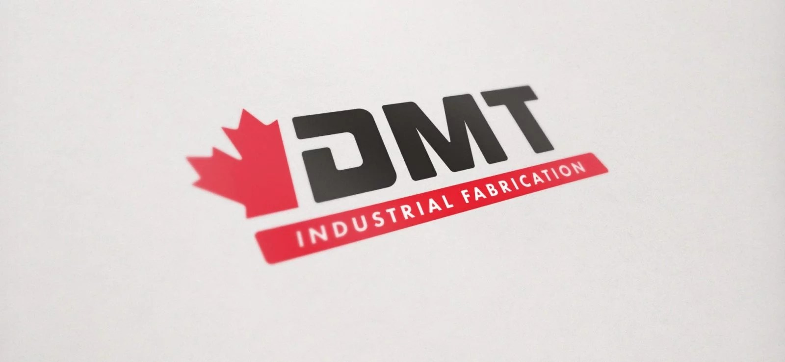 DMT Industrial Fabrication - Logo Design - Lethbridge Alberta