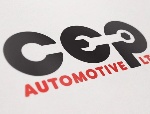 CEP Automotive Ltd - Logo Design
