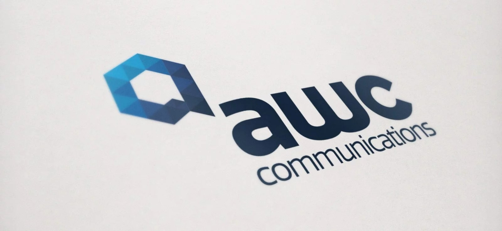 AWC Communications - Logo Design - Lethbridge, AB