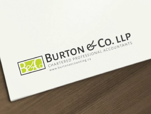 Logo Design Mockup for Burton & Co. LLP