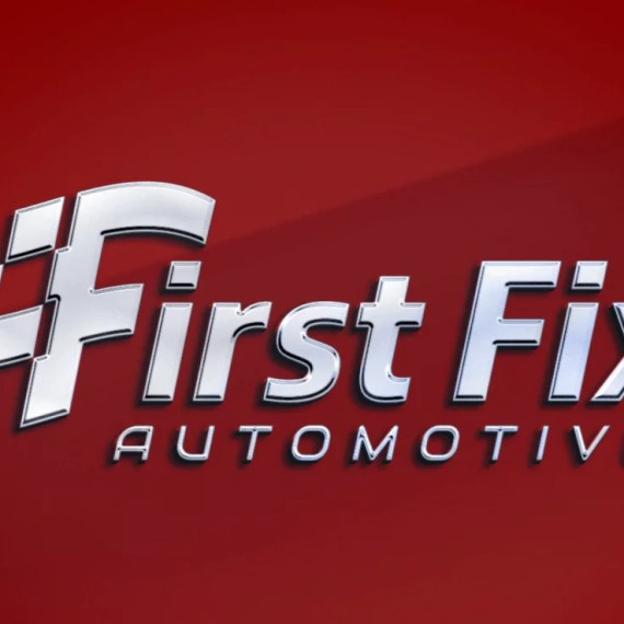 Logo Design Mockup for First Fix Automotive