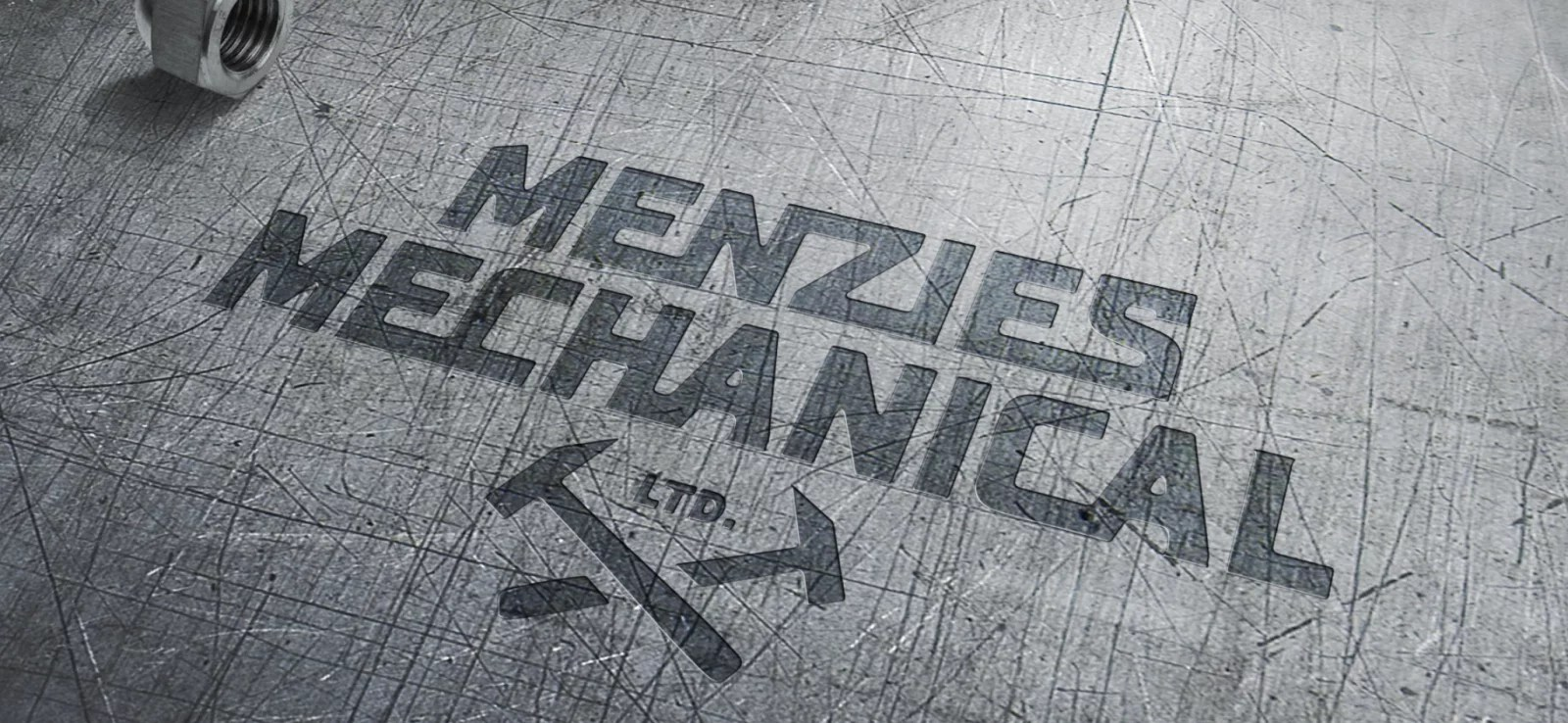 Logo Design Mockup 1 for Menzie's Mechanical