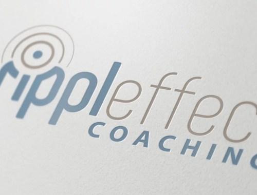 Logo Design Mockup for Rippleffect Coaching