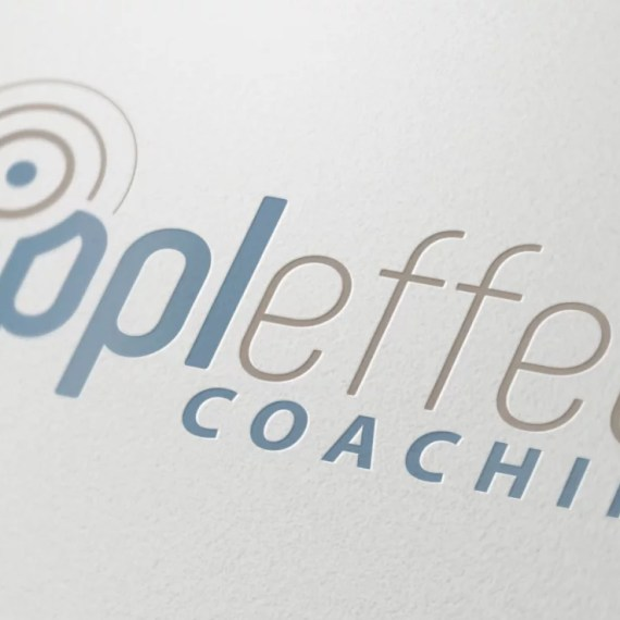 Logo Design Mockup for Rippleffect Coaching