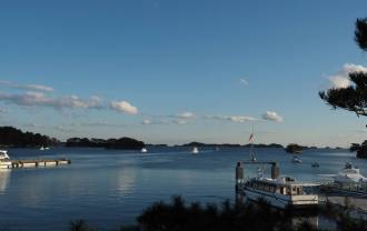 松島観欄的休み処から見た風景写真