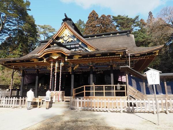 仙台大崎八幡宮の風景写真