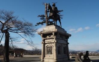 仙台城伊達政宗公銅像