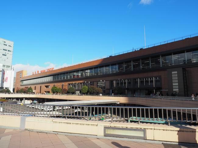 仙台駅西口の風景写真